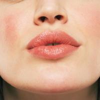 lice, zena, usne, rozaceja