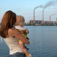 Zagadjenje, onecisceni zrak, dim, smog, tvornica