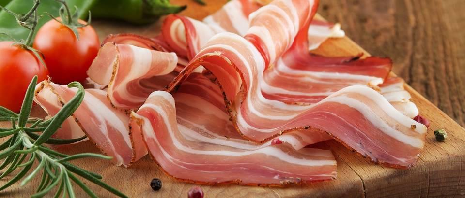 spek, slanina, panceta, shutterstock
