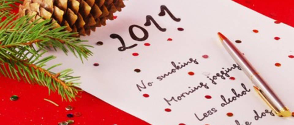 Nova godina, novogodisnje odluke