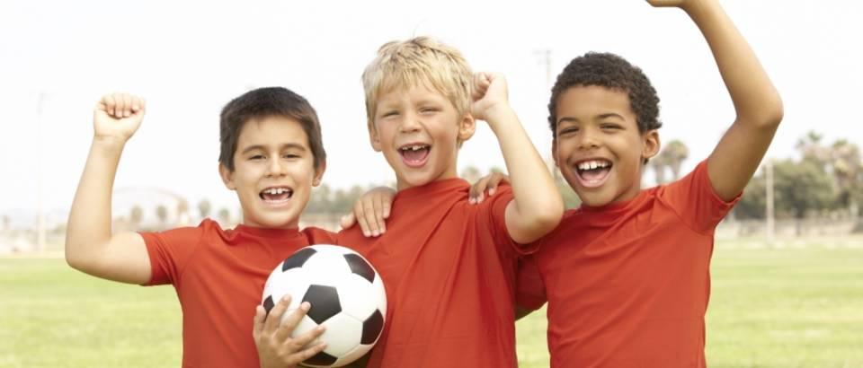 djeca, djecaci, nogomet