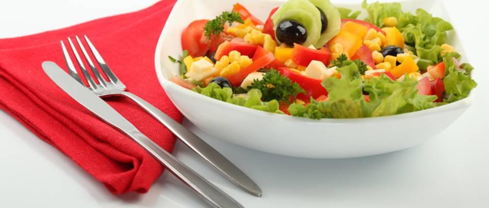 salata, povrce, zelena salata, kukuruz
