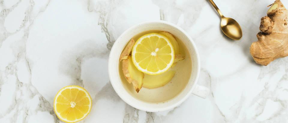limun, čaj, đumbir