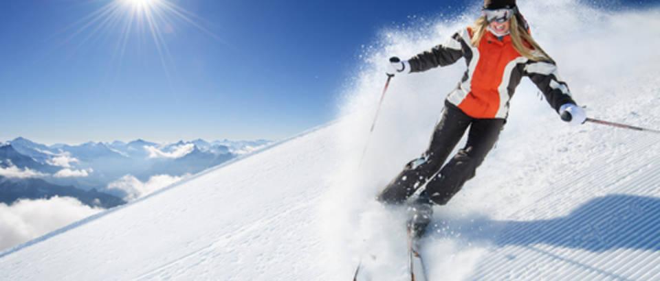 skijanje, zima, snijeg