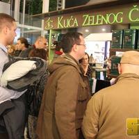 Kuca zelenog caja, Osijek