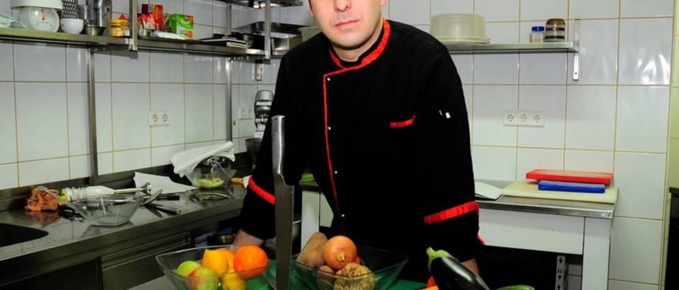 Matija Nikolic, sef kuhinje restorana Kaptolska klet