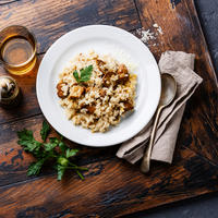 rižoto s gljivama