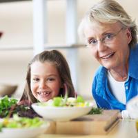 Baka, unuka, dijete, prehrana, zdrava hrana