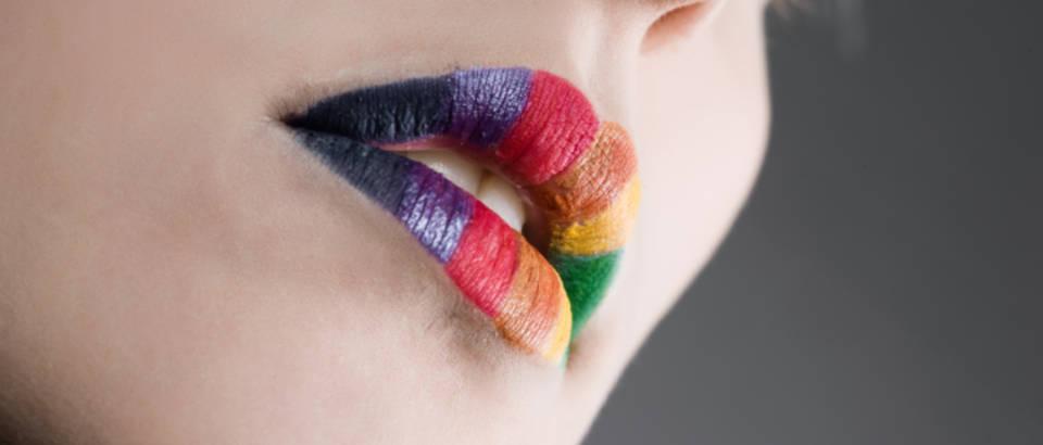 Makeup, sminka, usne