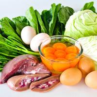 Hrana povrce meso jaja jetra jetrica shutterstock 154197890