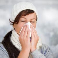 prehlada, gripa, kihanje