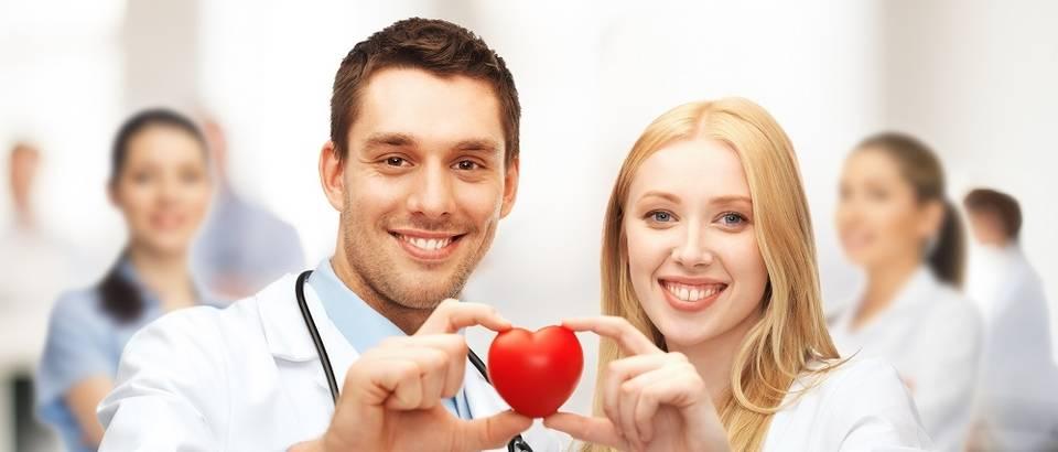 Srce liječenje liječnici medicina doktori muškarac žena spol bolest shutterstock 152010389