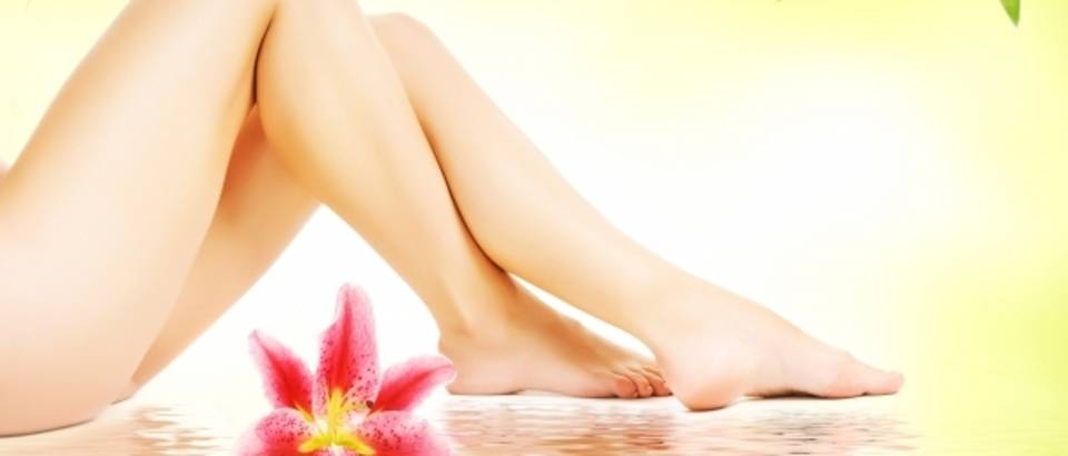 noge, depilacija