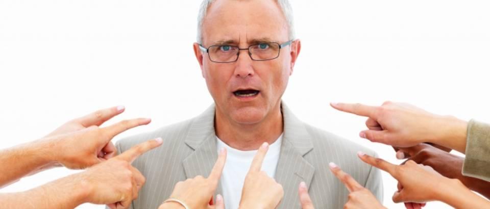 krivnja, optuzba, ljutnja, kritika