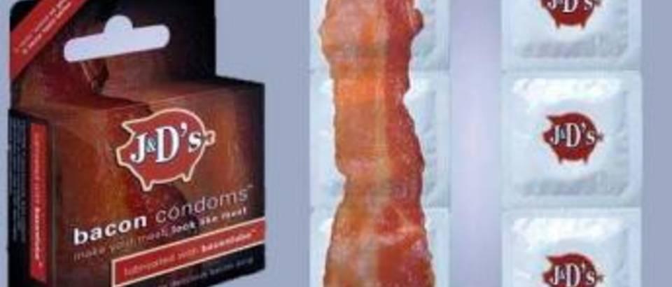 kondomi s okusom slanine
