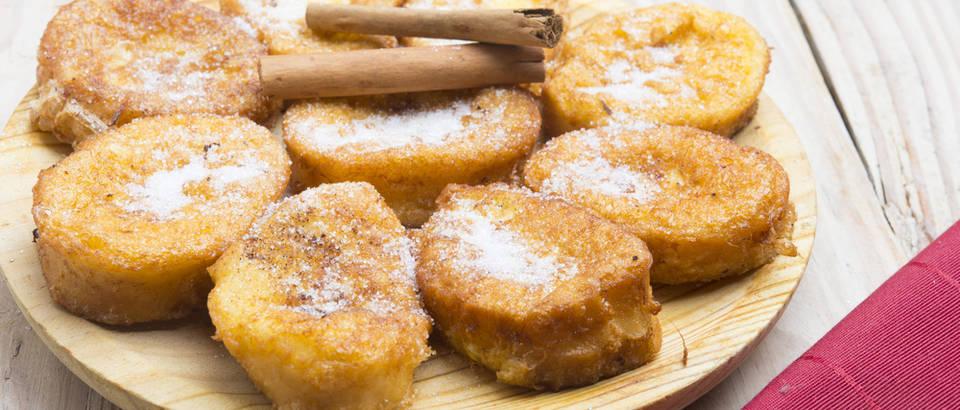 Francuski tost, cimet, recept, shutterstock