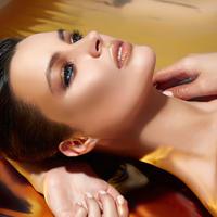 šminka žena trepavice