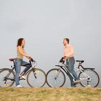 Aktivnost, sport, bicikli, par