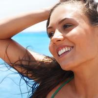 zena sunce sreca zdravlje