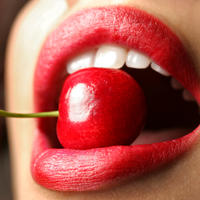 crveni ruz, usne