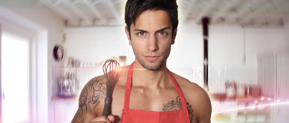 seksi kuhar, muskarac, kuha,Shutterstock 283213160