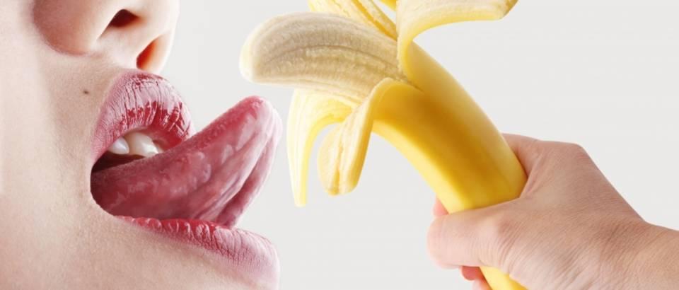 banana, oralni seks