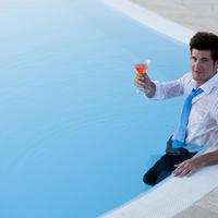bazen, muskarqac, Shutterstock 98505797