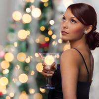 lijepa zena, nova godina, Shutterstock 320027162