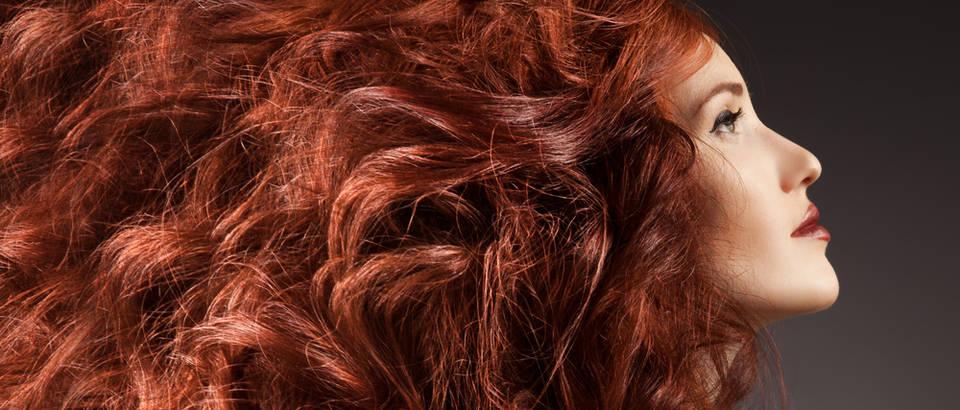 Kosa, crvena kosa, riđa kosa, duga kosa, valovita kosa, Shutterstock 137426438