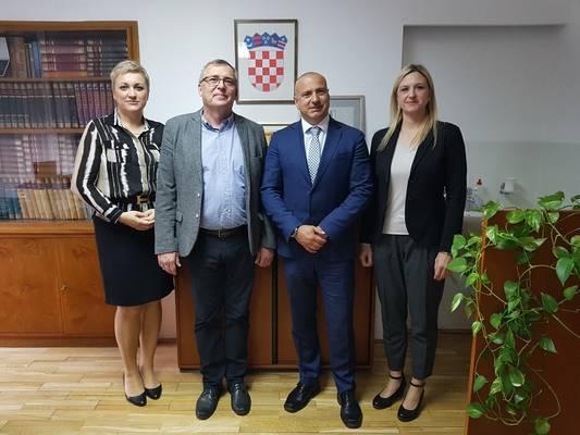 Prim. dr. sc. Marija Bubaš, doc. dr. sc Krunoslav Capak, prof. dr. sc. Tomislav Krističević i doc. dr. sc. Josipa Nakić