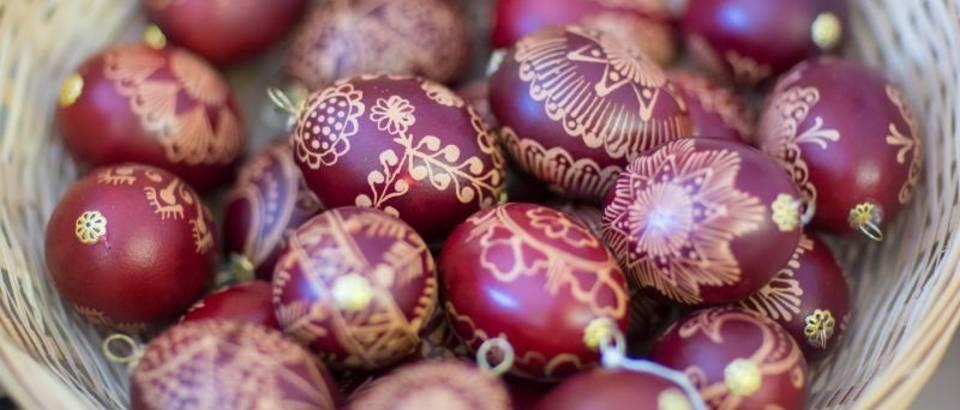 Grgo Jelavic/PIXSELL pisanice jaja uskrs