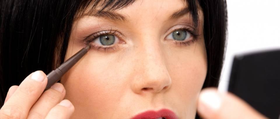 eyeliner, sminka, olovka za oci, sminkanje