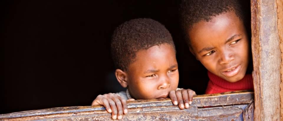 Siromasna djeca, afrika
