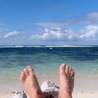 stopala, stopalo, noge, more, uzivanje, relaksacija