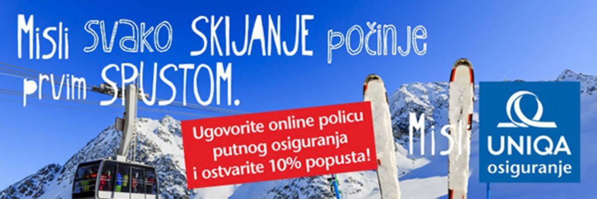 Online putno osiguranje banner