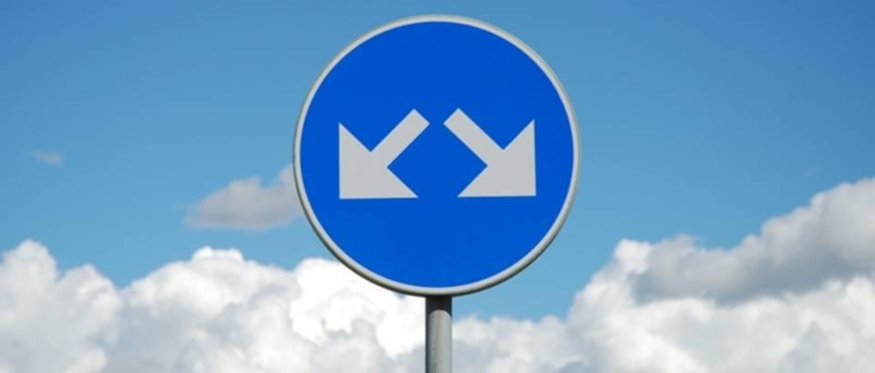 dilema, odluka, kojim putem, putokaz, znak, izbor, odabir