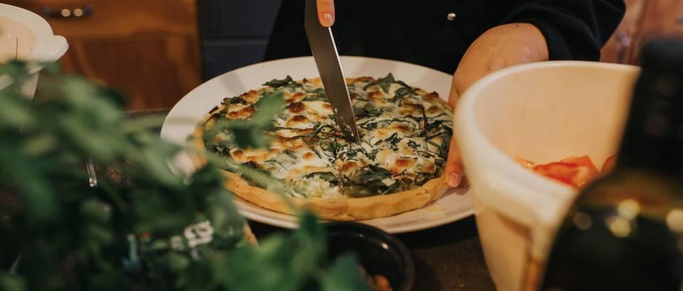 Zeleni quiche