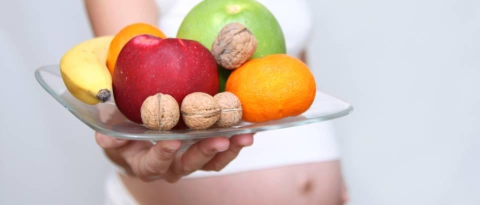 Trudnica, zdrava hrana