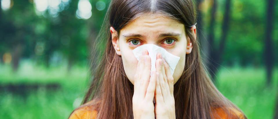 Alergija alergije pleud proljeće curenje nosa shutterstock 289809077