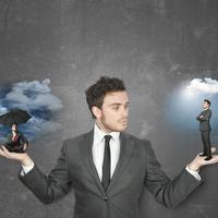 pozitiva, negativa, misli, izbor, shutterstock