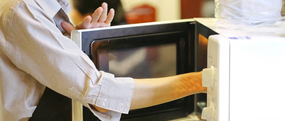 Mikrovalna pećnica brza hrana shutterstock 315672290