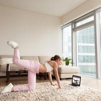 Vjezbanje doma, Shutterstock 712283662