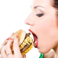 hamburger, meso, fast food, junk food