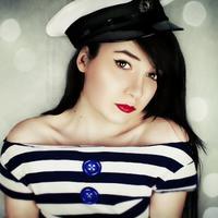mornar, prugice, ljeto, lijepa zena, uniforma