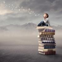 dijete, govor, slova, Shutterstock 63689380