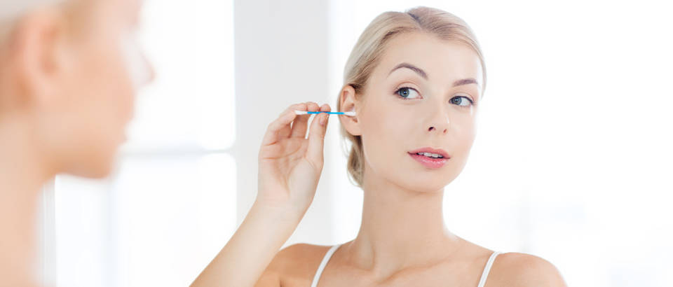 uho, sluh, zdravlje, čišćenje ušiju, štapići