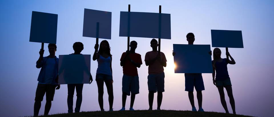Protest, protestiranje, Shutterstock 203254915