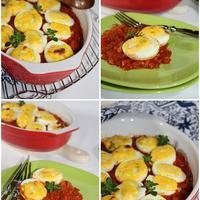 Jaja s gorgonzolom