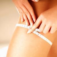 mrsavljenje, dijeta, traka za mjerenje, noge