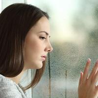 vlaga, kisa na prozoru, Shutterstock 342091748